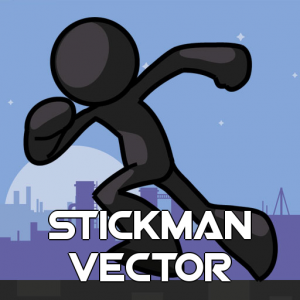 Stickman Vector image